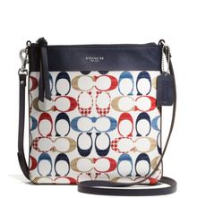Coach Bleecker Northsouth Swingpack in Multi C Print Coated Canvas - Lyst