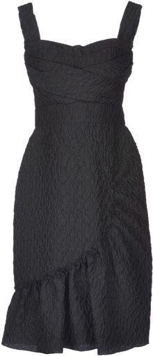 Peter Som Kneelength Dress - Lyst