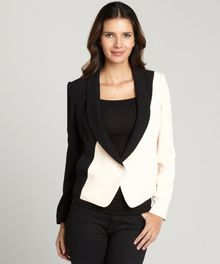 Rachel Roy Black and Rose Tuxedo Jacket - Lyst
