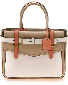 Reed Krakoff Boxer Color Blocked Tote - Lyst