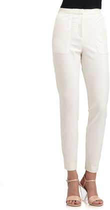 By Malene Birger Stretchcotton Pants - Lyst