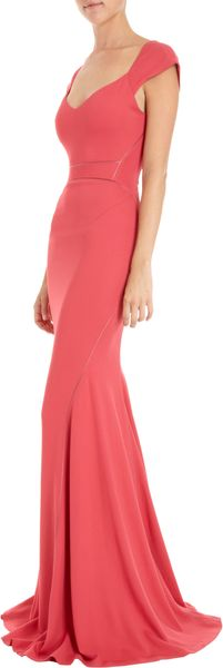 Zac Posen Sweetheart Neck Gown - Lyst