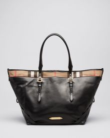 Burberry Tote Bridle House Check Medium Salisbury - Lyst
