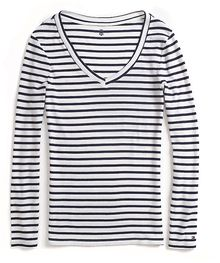 Tommy Hilfiger Long Sleeve Stripe Knit Top - Lyst