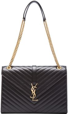 Saint Laurent Large Monogramme Chain Bag - Lyst