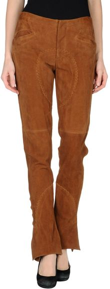 Ralph Lauren Collection Leather Pants - Lyst