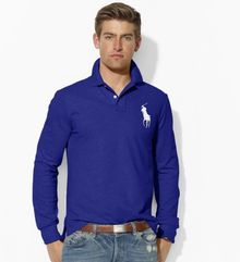 Polo Ralph Lauren Customfit Big Pony Polo - Lyst