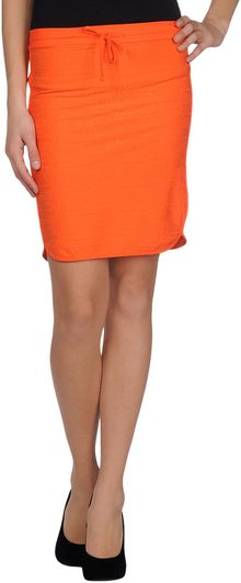 Fendi Knee Length Skirt - Lyst