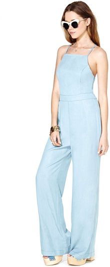 Nasty Gal Dolce Vita Pucker Up Jumpsuit - Lyst