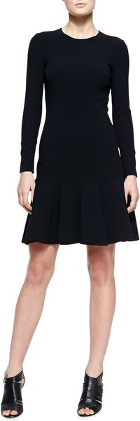 Michael Kors Flarehem Knit Dress - Lyst