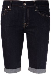 7 For All Mankind Cuffed Short - Lyst