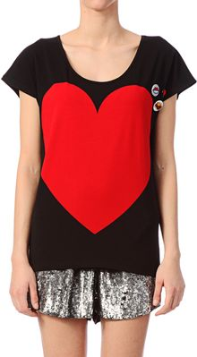 Love Moschino Short Sleeve Top - Lyst