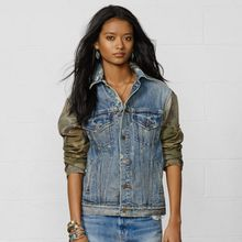 Denim & Supply Relaxed Trucker Jacket - Lyst