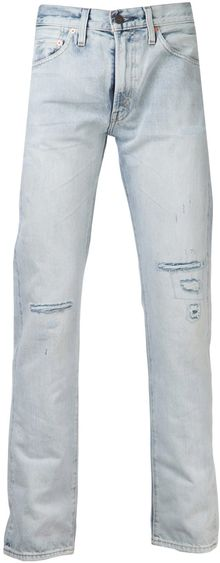 Levi's Vintage Clothing Distressed Jeans - Lyst