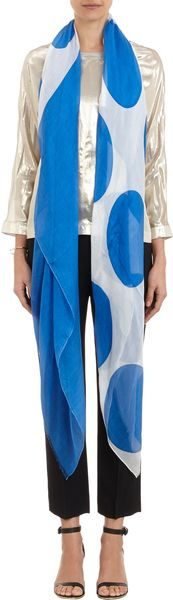 Lisa Perry Dotprint Scarf - Lyst