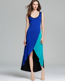 Calvin Klein Maxi Dress Panel - Lyst