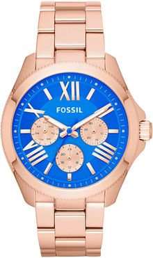 Fossil Ladies Rose Goldtone Cecile Watch - Lyst