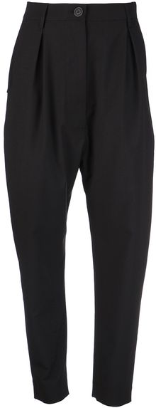 Vivienne Westwood Anglomania Pleated Trousers - Lyst