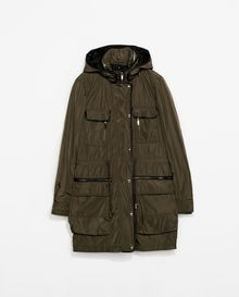 Zara Parka with Detachable Lining - Lyst