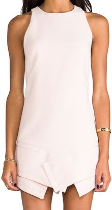 Finders Keepers Like Smoke Dress in Blush - Lyst