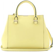 Victoria Beckham Quincy Leather Tote - Lyst