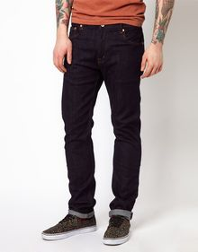 Wesc Eddy Jeans in Slim Fit Dark Wash - Lyst