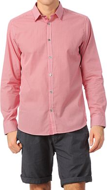 Ted Baker Long Sleeve Shirt Ga30whodoes - Lyst