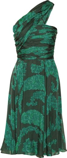 Giambattista Valli Printed Silk Dress - Lyst
