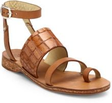 Rag & Bone Chartan Leather Sandals - Lyst
