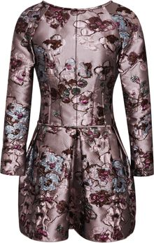 Nina Ricci Brocade Dress - Lyst