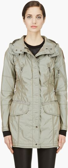Parajumpers Khaki Mary Todd Windbreaker - Lyst