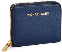 Michael by Michael Kors Bedford Leather Medium Ziparound Wallet - Lyst