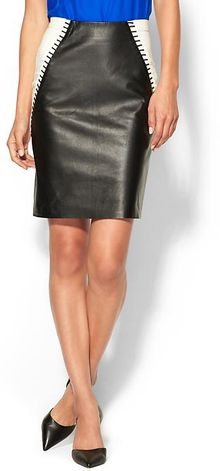 Sachin & Babi Eden Leather Skirt - Lyst