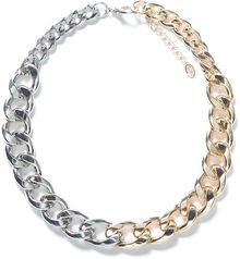 Zara Chain and Link Necklace - Lyst