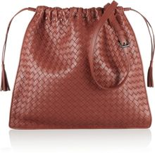 Bottega Veneta Intrecciato Leather Drawstring Shoulder Bag - Lyst