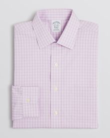 Brooks Brothers Glen Plaid Dress Shirt - Lyst