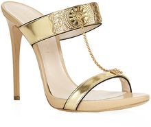 Casadei Marrakech Leather Sandal - Lyst