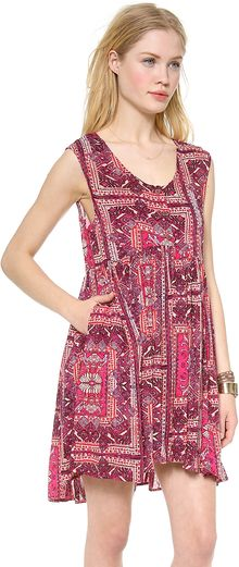 Free People Take Me To Thailand Dress - Lyst