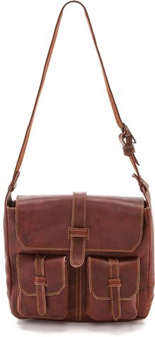 Frye Campus Vintage Shoulder Bag - Lyst