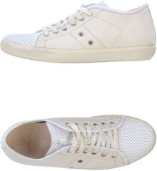 Leather Crown Lowtops Trainers - Lyst