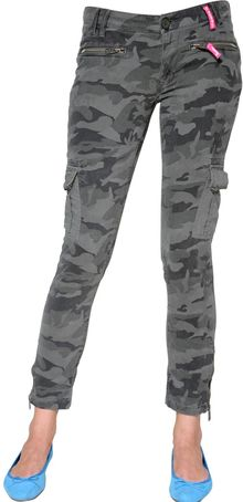 Superdry Camouflage Print Cotton Drill Trousers - Lyst