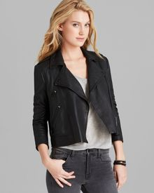 Elizabeth And James Jacket Erwan Leather - Lyst