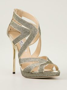 Jimmy Choo Collar Platform Sandals - Lyst