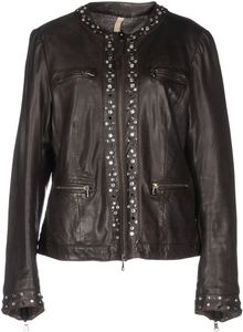 Le Sentier Leather Outerwear - Lyst