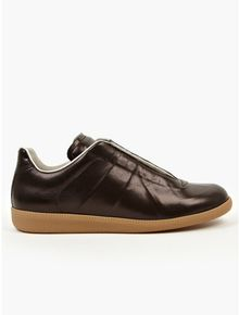 Maison Martin Margiela 22 Mens Black Covered Laceup Sneakers - Lyst