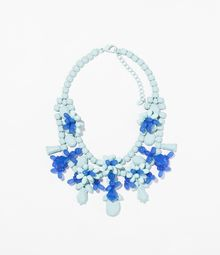 Zara Rhinestone Necklace - Lyst
