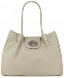 Lulu Guinness Stone Leather Mid Romilly Stone Leather Mid Romilly - Lyst