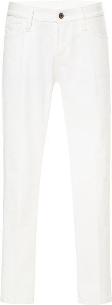 Sea White Denim Jeans - Lyst