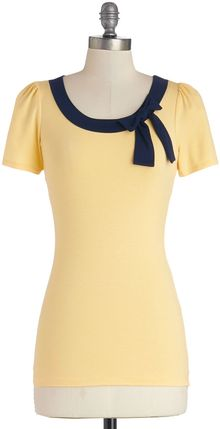 ModCloth Town Square Fair Top - Lyst