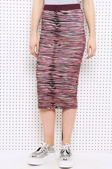 House Of Holland Multi Stretch Pencil Skirt - Lyst